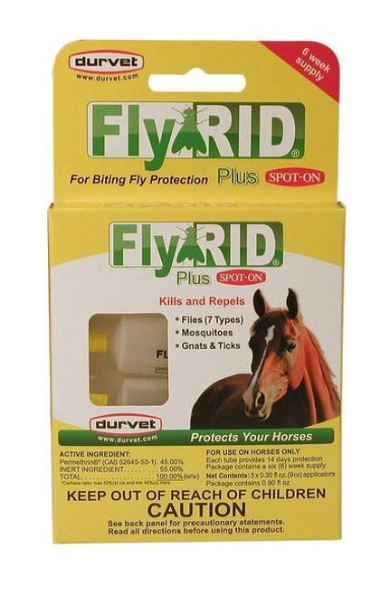 Fly Rid Spot-On 3x9cc Applicat