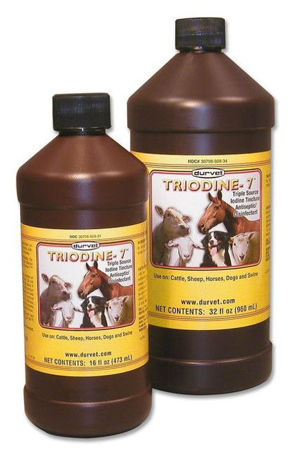 Iodine Strong 7% gallon. Triodine