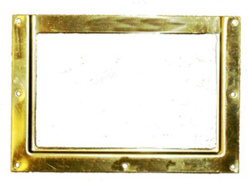 Stall Card Holder Solid Brass