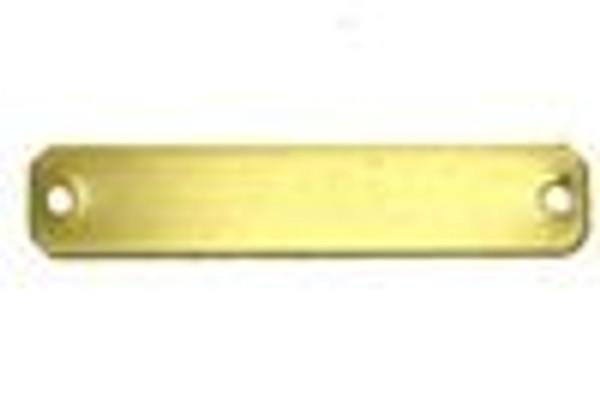Nameplate Brass Blank