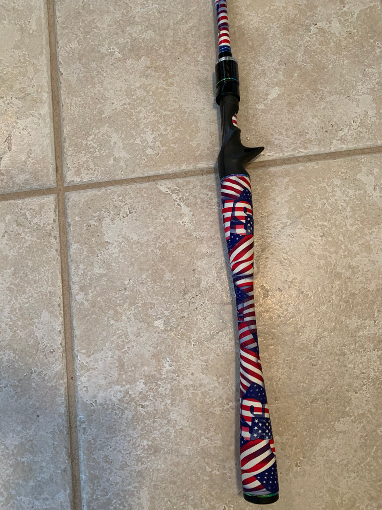"7'3"" Old Glory rod"