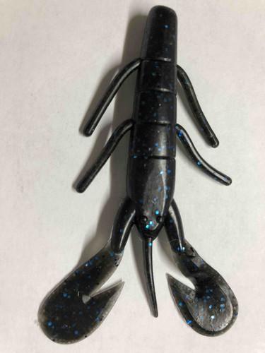 Black blue Flake lure. 3.5 inches