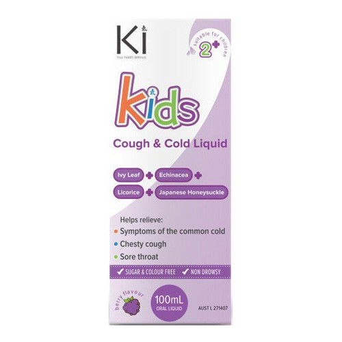 Ki - Kids Cough & Cold Liquid