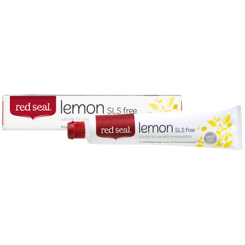 Lemon SLS Free Toothpaste