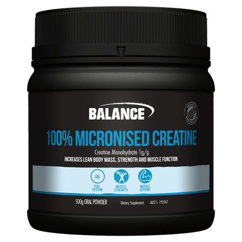 100% Micronised Creatine