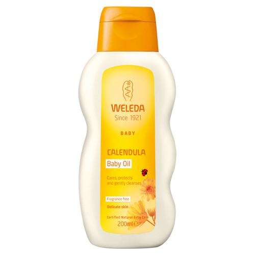 Calendula Baby Oil - fragrance free