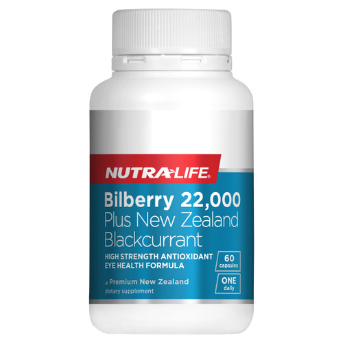 Bilberry 22,000 plus NZ Blackcurrant