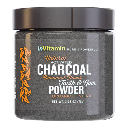 Natural Activated Charcoal Tooth & Gum Powder - Cinnamint