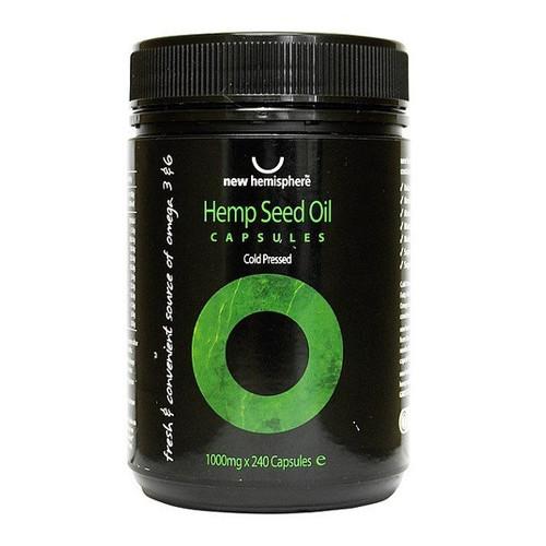 Hemp Seed Oil - capsules