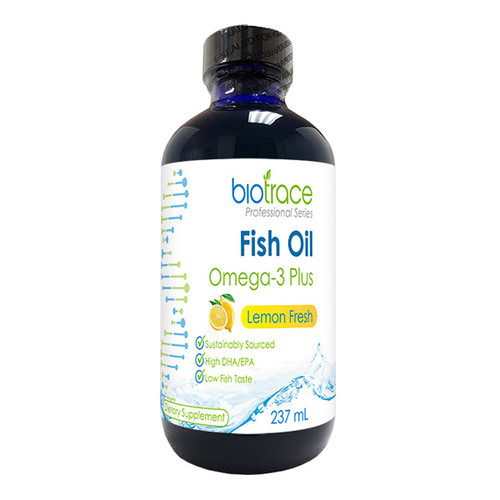 Fish Oil Omega-3 Plus - Lemon Fresh