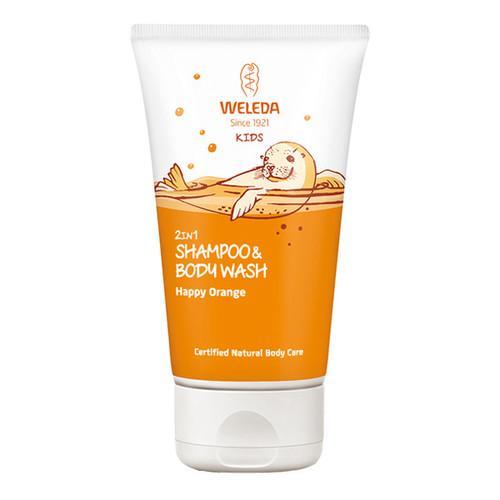 2in1 Shampoo & Body Wash - Happy Orange
