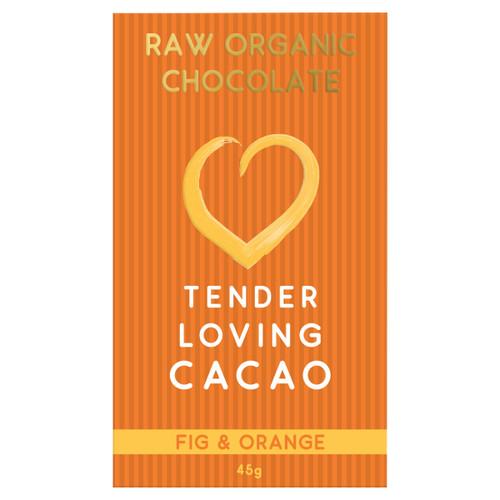 Raw Organic Chocolate - Fig & Orange