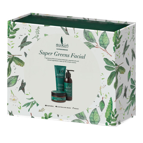 Super Greens Facial Gift Pack