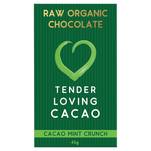 Raw Organic Chocolate - Mint Cacao Crunch