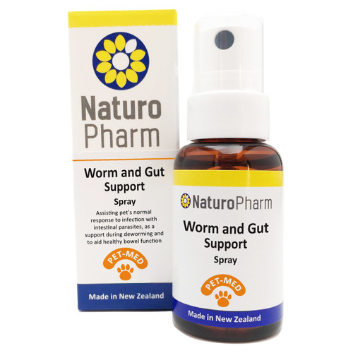 Pet Med Worm & Gut Support Spray