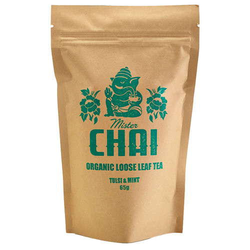 Organic Loose Leaf Tea Tulsi & Mint