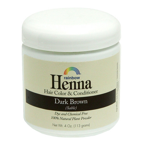 Henna Dark Brown - Sable