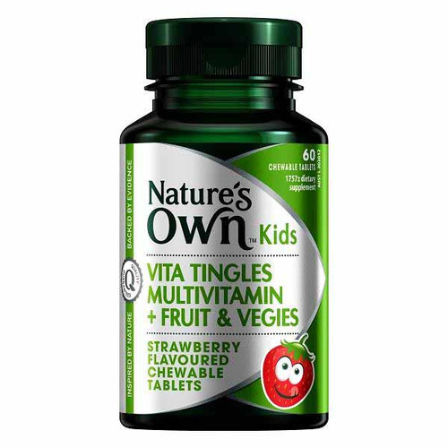Kids Vita Tingles Multivitamin + Fruit & Vegies