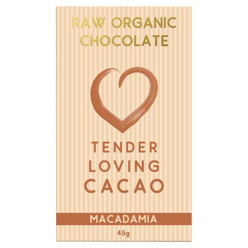 Raw Organic Chocolate - Macadamia