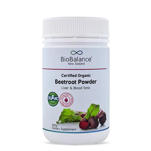 Certified Organic Beetroot Powder
