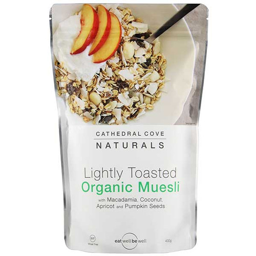 Lightly Toasted Organic Muesli
