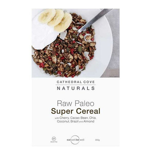 Raw Paleo Super Cereal Cherry & Cacao Bean