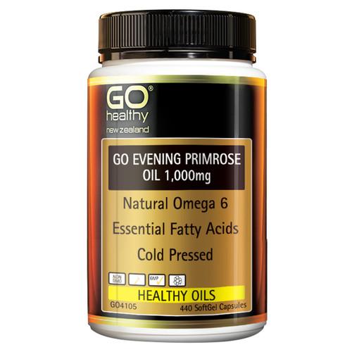 Go Evening Primrose Oil 1,000mg