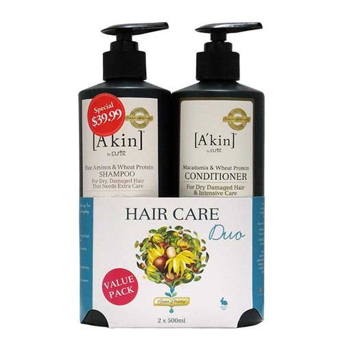 Dry & Damaged Hair Care Duo