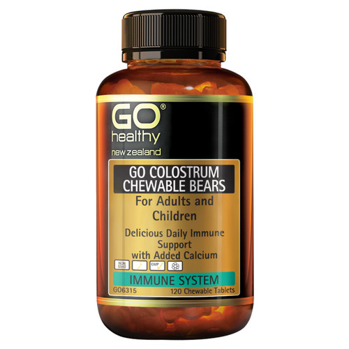 Go Colostrum Chewable Bears