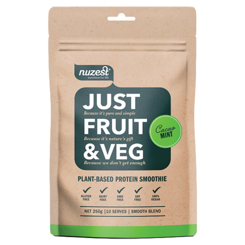 Just Fruit & Veg Cacao Mint