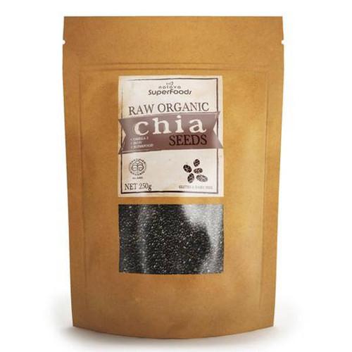 Certified Organic Black Chia Seeds