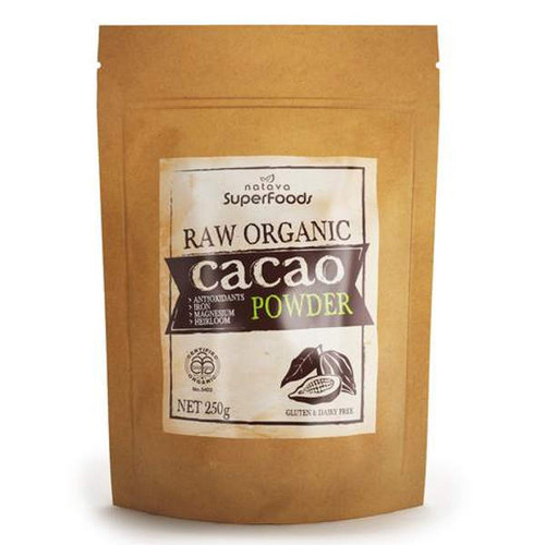 Certified Organic Raw Heirloom Cacao Powder