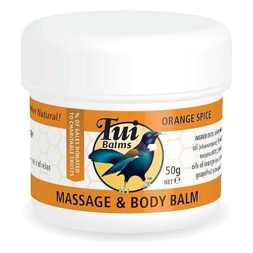 Massage & Body Balm - Orange Spice