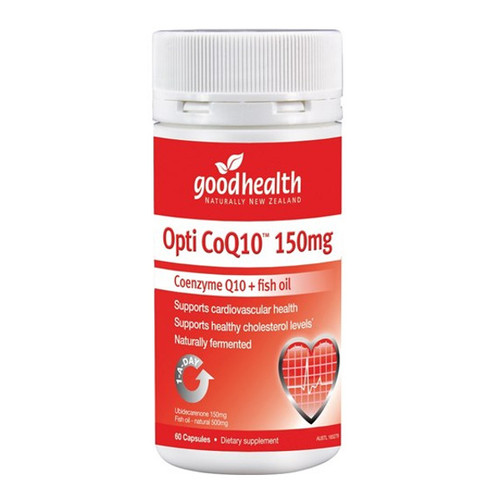 Opti CoQ10 150mg - Coenzyme Q10 + fish oil