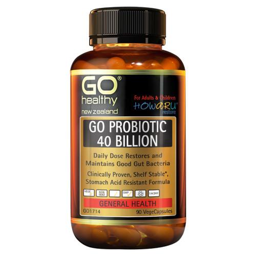 Go Probiotic 40 Billion