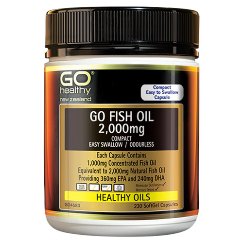 Go Fish Oil 2,000mg