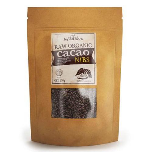 Certified Organic Raw Cacao Nibs