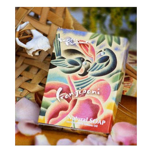 Frangipani Soap - Boxed Double Bar
