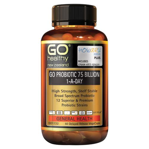 Go Probiotic 75 Billion 1-A-Day
