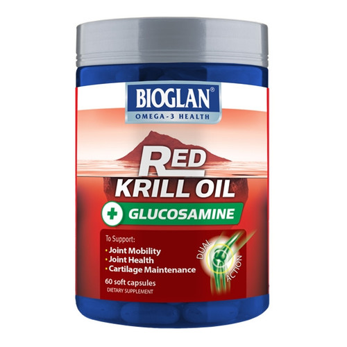 Bioglan Red Krill Oil plus Glucosamine
