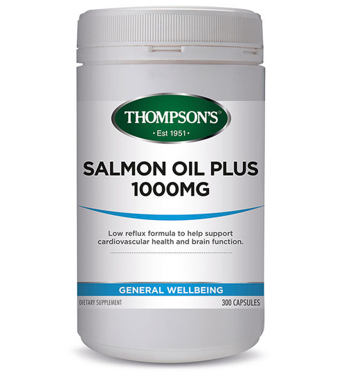 Salmon Oil Plus 1000