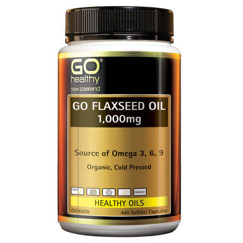 Go Flaxseed Oil 1,000mg