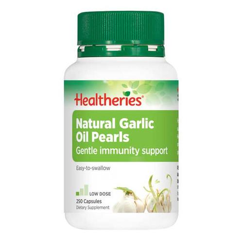 Natural Garlic Oil Pearls