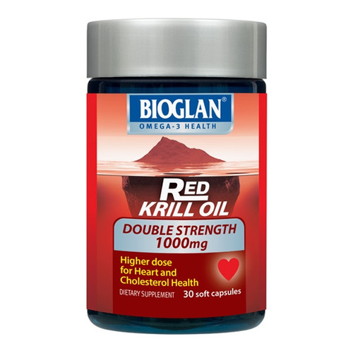 Red Krill Oil Double Strength 1000mg