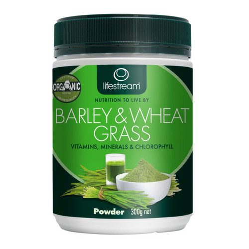 Barley & Wheat Grass Powder