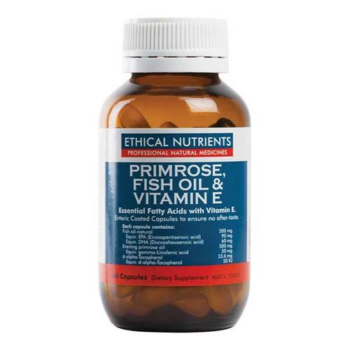 Primrose, Fish Oil & Vitamin E