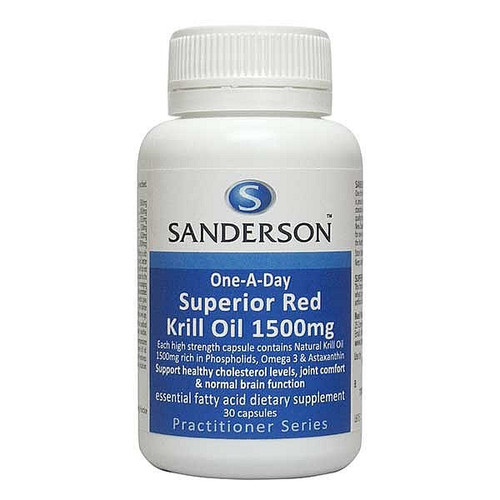 Superior Red Krill Oil 1500mg