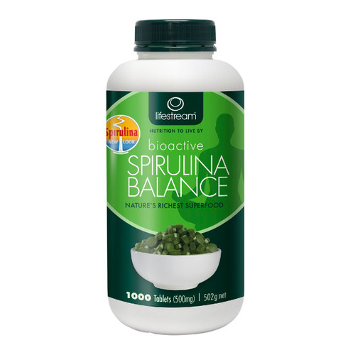 Bioactive Spirulina 500mg Tablets