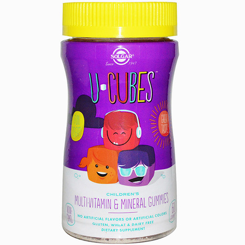 U-Cubes Children's Multi Vitamin & Mineral Gummies