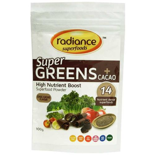 Super Greens plus Cacao